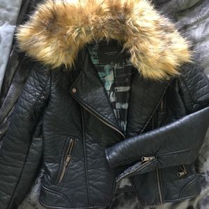 Marc Jacobs Faux leather jacket